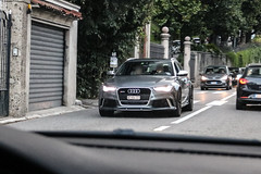 Switzerlan (Geneva) - Audi RS6 Avant C7 2015 (PrincepsLS) Tags: switzerland swiss license plate ge geneva italy como spotting audi rs6 avant c7 2015