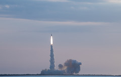 Orion - Ascent Abort 2 - 1 (wwpics19) Tags: kennedy nasa test rocket launch orionascentabort cocoabeach florida jettypark