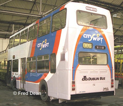 Dublin Bus RH132 (92D132). (Fred Dean Jnr) Tags: busathacliath cityswift shill summerhill bus dublinbus leyland olympian alexander rh rh132 november1997 92d132 summerhillgaragedublin