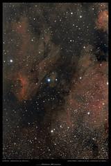 IC5070 Pélican - NGC7000 North America (Adrien Witczak) Tags: adrienwitczak astrophotographie astrophotography astronomie astronomy astrophoto canon1000ddefiltre nébuleuse pélican amériquedunord northamerica ciel cielprofond deepspace espace voielactée