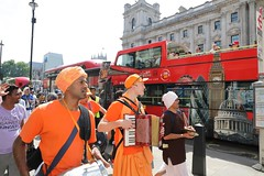 Walk Against Hunger London 29.06.2019 - ISKCON-London Radha-Krishna Temple - 29/06/2019 - IMG_3841 (DavidC Photography 2) Tags: 10 soho street london w1d 3dl iskconlondon radhakrishna radha krishna temple hare harekrishna krsna mandir england uk iskcon internationalsocietyforkrishnaconsciousness international society for consciousness walk against hunger charity sponsored feed homeless buy new ev electric vehicle van free food prasadam distribution all life saturday 29 29th june summer 2019 hottest day year 34 degrees c 34c centigrade celcius 29062019 red tour bus