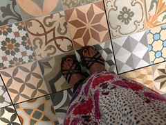 Pretty Tiles (Girl Least Likely To) Tags: puertorico vacation summer island