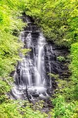 Soco falls obser deckfb (szafrakl) Tags: karenpics photographer photography landscape waterfalls nc northcarolina mountains blueridgeparkway rhodadendrons craggy garden pinnacle soco falls indian reservation