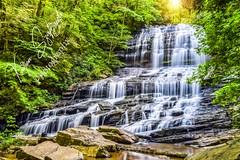 Pearsons Falls sunflarefb (szafrakl) Tags: karenpics photographer photography landscape waterfalls nc northcarolina mountains blueridgeparkway rhodadendrons craggy garden pinnacle pearsons falls saluda