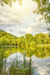 CHarles D Ownen Sunset reflectiionsFB (szafrakl) Tags: karenpics photographer photography landscape waterfalls nc northcarolina mountains blueridgeparkway rhodadendrons craggy garden pinnacle owen park sunset