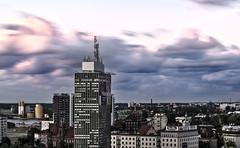 Clouds over the city (mmichalec) Tags: clouds cloud sky city longexposure ndfilter neutraldensity chmury niebo miasto gdańsk trójmiasto tricity poland polska fujifilm pomerania pomorze