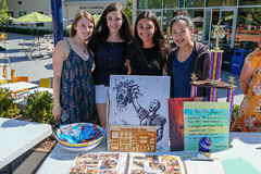 Club Fair 2 (Admissions at Menlo School) Tags: ca girls people usa fall students sign candy banner quad event clubs trophy sonia smallgroup atherton 2018 upperschool menloschool photobypetezivkov formalgroupphoto