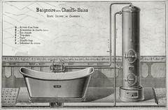 Heating the Bath Water. 1898 (growlerthecat) Tags: godin waterheating hotwater bath guise