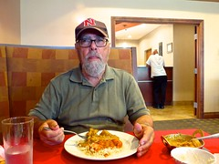 Ali at Aroma Circuit, Norfolk (ali eminov) Tags: norfolk nebraska food indiancuisine chickenkorma restaurants aromacircuit people ali