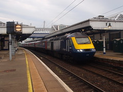 Stirling - 29-06-2019 (agcthoms) Tags: scotland stirlingshire stirling station railways trains scotrail hst class43 43146