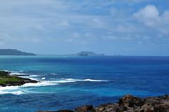 the mokes from Makapu'u (heartinhawaii) Tags: waimanalo waimanalobay islets islands offshoreislands mokes ocean sea pacific oahu eastoahu hawaii nature seascape nikond3300