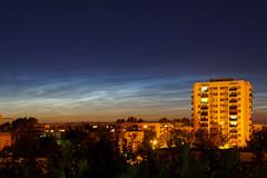 Srebrne Obłoki (Sonorov) Tags: srebrneobłoki noctilucent konin chmury clouds greaterpolandvoivodeship poland