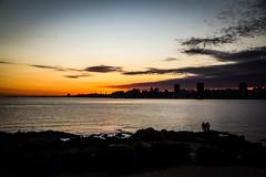 Uruguai Trip (Romero Filho) Tags: uruguai uruguay montevideo montevidéu canon 60d 18135 litoral shore praia beach sun sunset pordosol sol romerofilho viagem trip america sul south latin sky céu silhouette silhueta