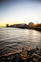 Uruguai Trip (Romero Filho) Tags: uruguai uruguay montevidéu montevideo litoral shore metrópole city cidade sul south sunset pordosol america romerofilho canon 18135 sea mar beach sun sol
