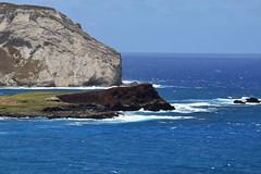 offshore islets Manana and Kaohikaʻipu (heartinhawaii) Tags: waimanalo waimanalobay rabbitisland islets islands offshoreislands ocean sea pacific oahu eastoahu hawaii nature seascape nikond3300