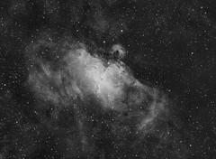 M16 Eagle Nebula Ha (sergiy.vakulenko) Tags: astronomy astrophotography astrophoto deepsky dso space sky stars nebula ed80 atik383l ha narrowband m16 eagle