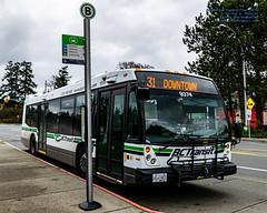 A 2009 BC Transit Nova Bus LFS (AvgeekJoe) Tags: 2009novabuslfs bctransit d5300 dslr nikon nikond5300 novabuslfs tamron18400mm tamron18400mmf3563diiivchld bus publictransit publictransportation