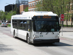 Winnipeg Transit 836 (TheTransitCamera) Tags: wt836 winnipegtransit transit transportation transport travel citybus bus fixedroute publictransit publictransport nfi newflyerindustries xcelsior xd40 winnipeg manitoba canada city urban route074