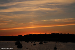 Messing About on the River (Kernow Rail Phots) Tags: boats nautical river water penrynriver flushing falmouth cornwall kernow 2nd july 2019 272019 2000s sunny sun sunset silhouette silhouettes gold orange sky clouds evening eveninglight trees