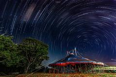[Stars Trails Circus] (Gentilly Costa) Tags: sky stars startrail astrophotography astronomic night nightscape milkway cerrado minasgerais mg deep