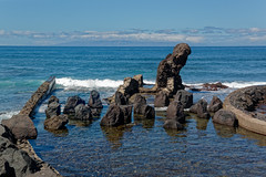 Costa Adeje, Santa Cruz de Tenerife, Canary Islands, Spain (wildhareuk) Tags: canaryislands canon canoneos500d pool sea seascape spain tamron18270mm tenerife tenerife2019 water rock tamron img9487dxo