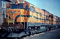 MEC U18B 400 & 409 South Portland (ironmike9) Tags: track rail rr railroad railway mec mainecentralrr maine locomotive train freight u18b rigbyyard soportlandme