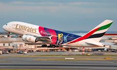 A6-EOH - Airbus A380-861 - LHR (Seán Noel O'Connell) Tags: emirates a6eoh airbus a380861 a380 a388 cricketworldcup2019 icc heathrowairport heathrow lhr egll dxb omdb ek4 uae4 aviation avgeek aviationphotography planespotting