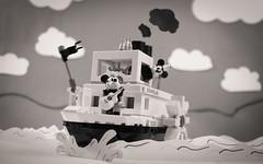 Making a Splash! (thereeljames) Tags: lego disney steamboatwillie legophotography minifigures toyphotography toyphotographers toys canon