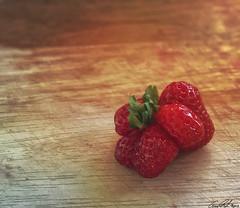 Notre nouvelle variété de fraises: La Tchernobyl