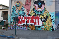 (Laugh now, smile later) Tags: luter atb oakland bayarea eastbay graffiti