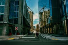 DO NOT ENTER (Sarah Rausch) Tags: windowwednesdays reflection urban nashville city street
