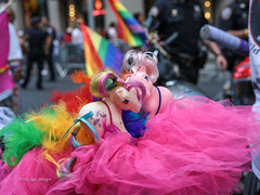World Pride NYC 2019 (tai_lee2) Tags: pride parade new york nyc festival celebration lights toys street road vehicle building person people happy costume