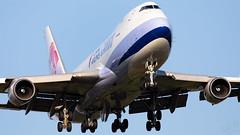B-18723 China Air 747-400F IAH 2019-04-27-3 (GFB Aviation Photography) Tags: b18723 chinaairlines 747 747400f iah kiah