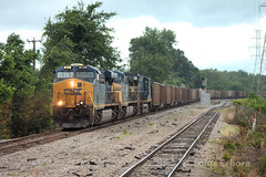 SC Empties (TolgaEastCoast) Tags: csx coal train es44ah richmond virginia empty trains railroad railfan cross north wateree
