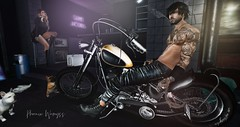 Four wheels move the body, Two wheels move the soul... (Mr Wemyss) Tags: varonis rezzroom serenitystyle xin apllefall theliasioncollaborative akshapes kc swallow doux rkkn realevil code5 modulus fameshed magnificient speakeasy dubaievent versov sau