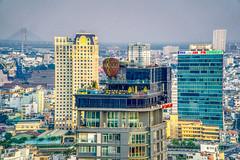 Saigon city views (annaspies) Tags: hochiminhcity skybar city skyline panorama cityview vietnam hdr