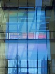 impervious windows (Riex) Tags: passerelle overpass office building batiment architecture abstract basscenter stanford california californie stanforduniversity sfba paloalto g9x