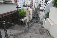 Hill in Tokyo (seiji2012) Tags: japan tokyo kanda stairs 神田明神 明神男坂 坂道 階段