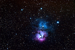 Trifid Nebula (roberthenry6) Tags: trifid nebula messier space telescope astrophotography nikon celestron d5500