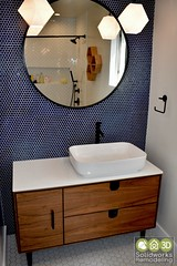 mid-century bathroom remodel by solidworks remodeling (SolidworksRemodeling) Tags: bathroom kitchenbathroom vanity remodel complete remodeling solidworksremodeling construction company