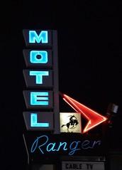 Ranger (slammerking) Tags: neon motel denver colfax
