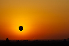 Hot Air Balloon Eclipse, Bagan Myanmar (AdamCohn) Tags: flickrtravelaward adam cohn hot air balloonhotairballoons burma myanmar dawn eclipse morning silhouette streetphotographer streetphotography sunrise wwwadamcohncom adamcohn