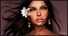 Origami (Moxxie Kalinakova) Tags: monochrome headshot mandala portrait beauty style class elegant brunette moxxie kalinakova argrace