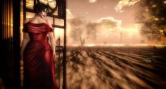 Let It Go (Renascentia11) Tags: solo portrait solitary gown renni renascentia red