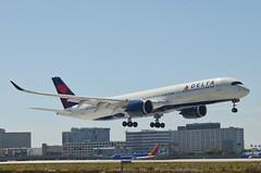Delta Airlines A350-941 (N512DN) LAX Approach 1 (hsckcwong) Tags: deltaairlines a350941 a350900 a350 n512dn lax klax