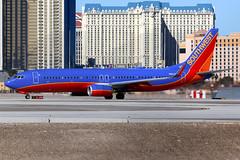 Southwest Airlines | Boeing 737-800 | N8617E | Las Vegas McCarran (Dennis HKG) Tags: aircraft airplane airport plane planespotting canon 7d 100400 lasvegas mccarran klas las southwest southwestairlines swa wn boeing 737 737800 boeing737 boeing737800 n8617e