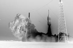 Ascent Abort-2 Liftoff, variant (sjrankin) Tags: las orion aa2 launchabortsystem moontomars artemis2 aborttest ascentabort2 launchpad46 test florida edited nasa rocket grayscale artemis spacecraft 3july2019