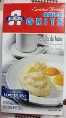 Quick grits  1 (SierraSunrise) Tags: thailand nongkhai isaan esarn phonphisai food grits box southern corn white