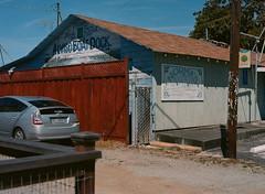 Alviso, California (bior) Tags: alviso sanjose california pentax645nii pentax645 6x45cm portra160vc portra kodakportra mediumformat 120 mural usmc lotto store