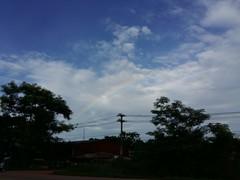 Morning Rainbow 1 (SierraSunrise) Tags: thailand nongkhai isaan esarn phonphisai weather clouds bluesky rainbow